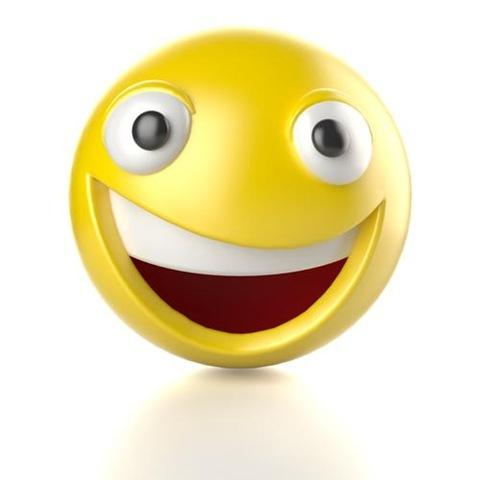 Moving animations of smiley faces